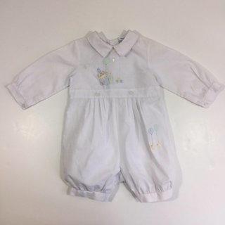 62cccdd0d Boy's Clown Romper 9 Months Dress Picture Vintage Outfit