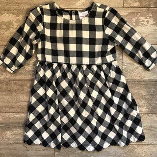 61e71aa65e778 Hanna Andersson Buffalo Plaid Dress Size 120