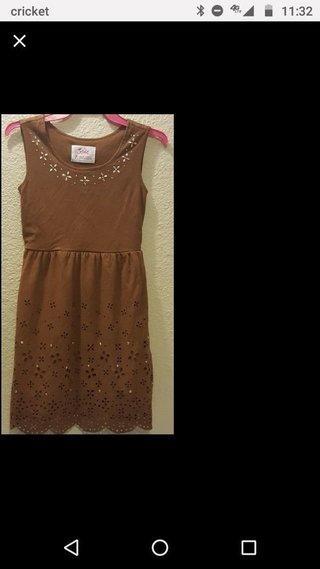 c1ab9d72c7f2f Justice Soft Dress Size 7