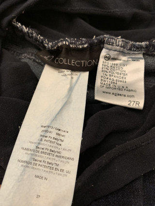 57453d93eb3b1 AG P Collection Maternity Jeans