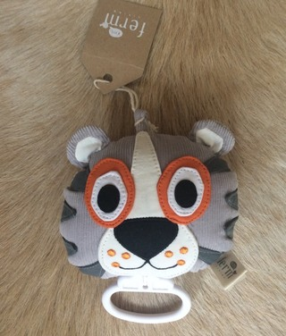 NWT Ferm Living Tiger Music Mobile