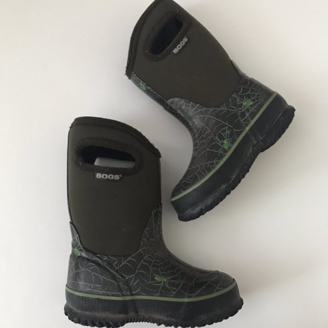 Bogs Green Spider Boots