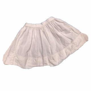 28ea937037932 Petit Bateau White Cotton Skirt Size 2