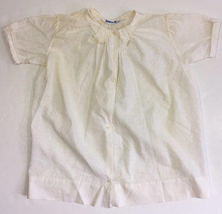 8adc7d1b2 Vintage 50's Neiman Marcus White Baby Gown Dress 0 3 6 Months Baptism  Baptismal 1958