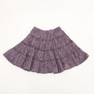 2887ce8d95 Hanna Purple Tiered Heart Print Skirt
