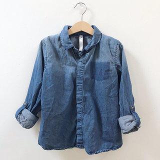 63de9240 OMAMImini Denim Shirt
