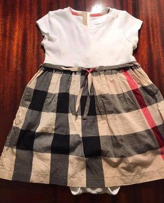 d0173c937a5d 3t Burberry dress vvguc