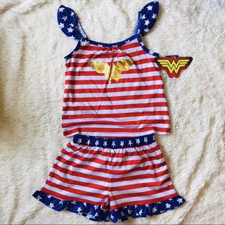 77d435a91bbd7 NWT Wonder Woman Pajama Set