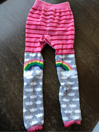 $24 NWT Hanna Andersson Stripey tights 80//90