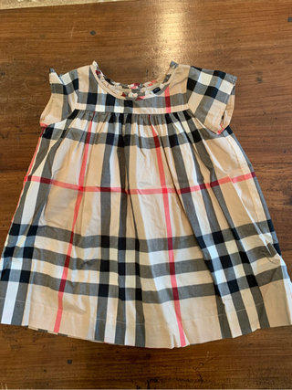 a2d020262e24 Burberry Toddler Dress