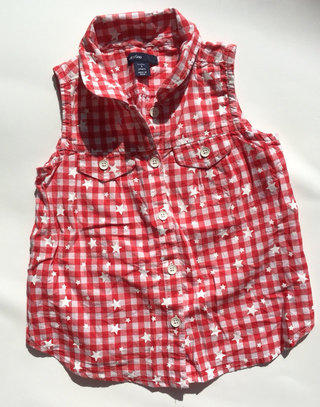 9773c3193 Sweet Gap Stars Gingham Style Shirt!