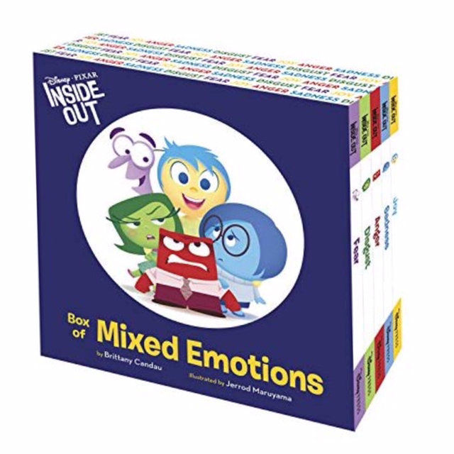 Disney Pixar Inside Out Box Of Mixed Emotions Five Book Set