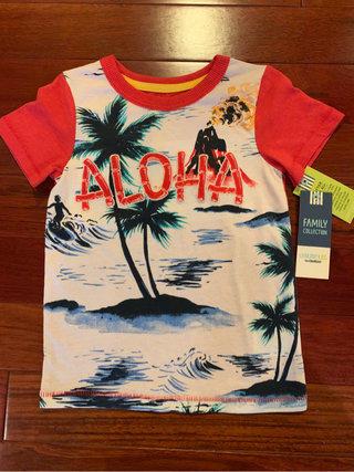 5386da911 NWT Genuine Kids Boys Aloha Summer Short Sleeve Shirt Size 2T