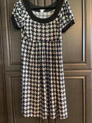 d2c7d500d4fac Motherhood Maternity Houndstooth Dress