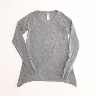 45018a37262217 Ivivva Practice Ready Heather Gray Top