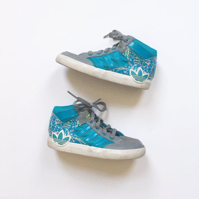 Estimado Guia Desgracia  Adidas Splatter Paint 🎨 High Tops Size 10