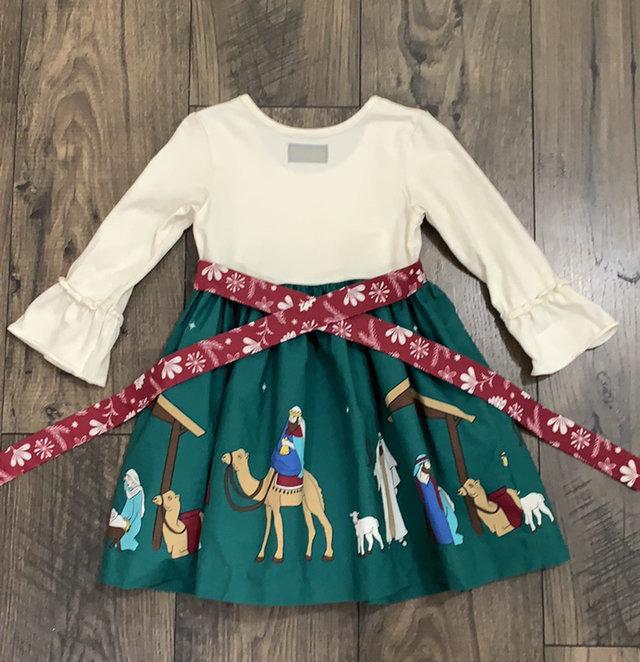Eleanor Rose Silent Night Christmas Dress