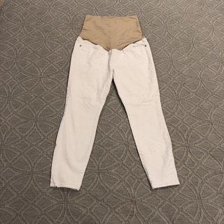 7c38d92ee2915 Ann Taylor Loft 6P Petite White Maternity Skinny Jeans