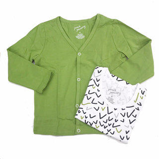 c592e017b9895c NEW! June And January Cardigan & Ballot Tank Set Size 4T