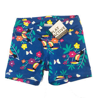 """dfdd0db941 Hanna Andersson Play Active """"Toucan"""" Shorts Size 140cm"""