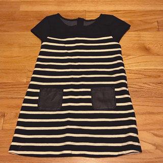 e11b0a500 Gymboree Black And White Striped Dress
