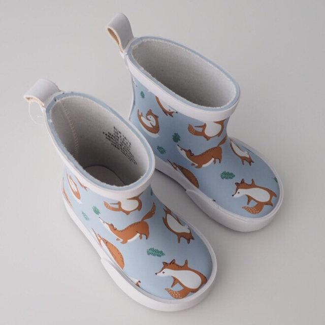 NWT H\u0026M Fox rain boots