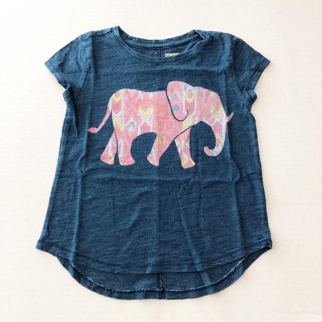 NWT GYMBOREE Baby Girl Elephant w// Balloons Thermal Tee