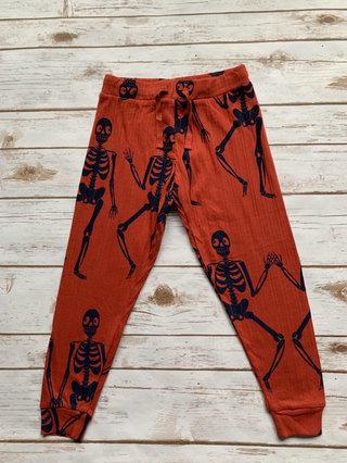 Mini Rodini Skeleton Jersey Trousers 92-98 Cm