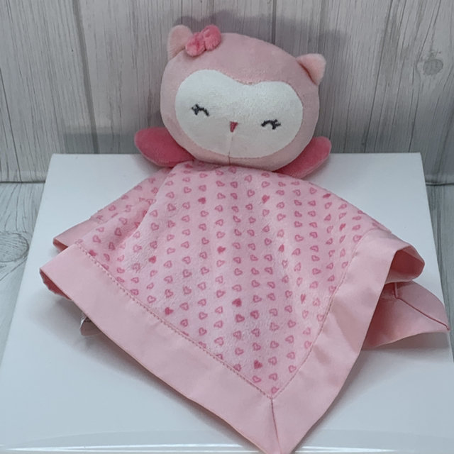 Child of Mine Owl Lovey security blanket