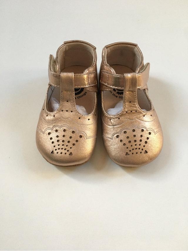 Livie \u0026 Luca Rose Gold Cora Shoes