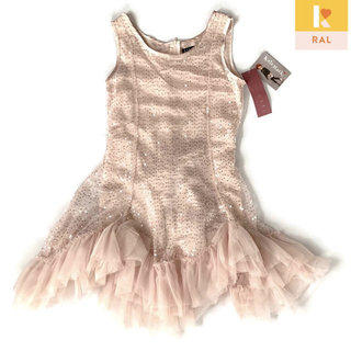 Biscotti Baby Girls Footie Romper Coverall Light Pink Swan NWT