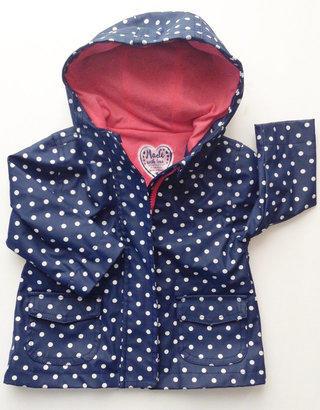 NWT Frugi Corduroy Girls Trousers Organic Cotton Navy Blue 3-6months Spotty