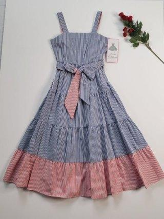 Rare Editions Girls Polka Dot Sequin Butterfly Dress 12m-24m