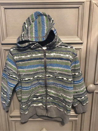 Paul Designer Zip Sweater ~ Size 10 NWT Toobydoo Boys/' Mr