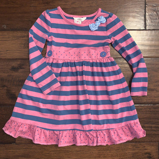 NWOT Matilda Jane Make Believe Chalkboard Doodles Lap Dress size 6