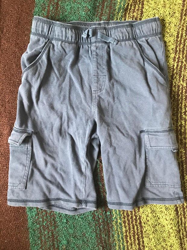 NWT Gymboree Boys Knit Athletic Shorts Blue w// Gray Size 6-12 18-24 M /& 4T