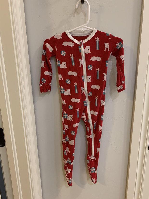 NWT 12-18 Month Kickee Pants Confetti W// Dusty Sky Pajamas