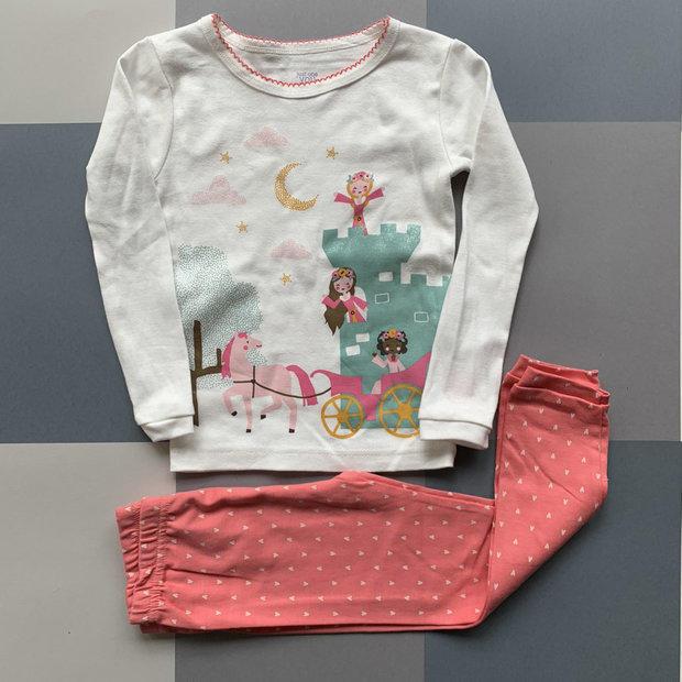 Carter/'s Toddler girl 4T Footed Pajamas Dog Blanket Sleeper GRAY NWT Pajama
