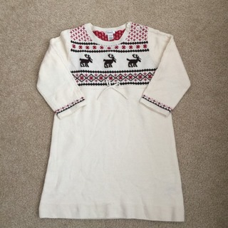 Threads Deer Fair Isle Dress Merino Wool