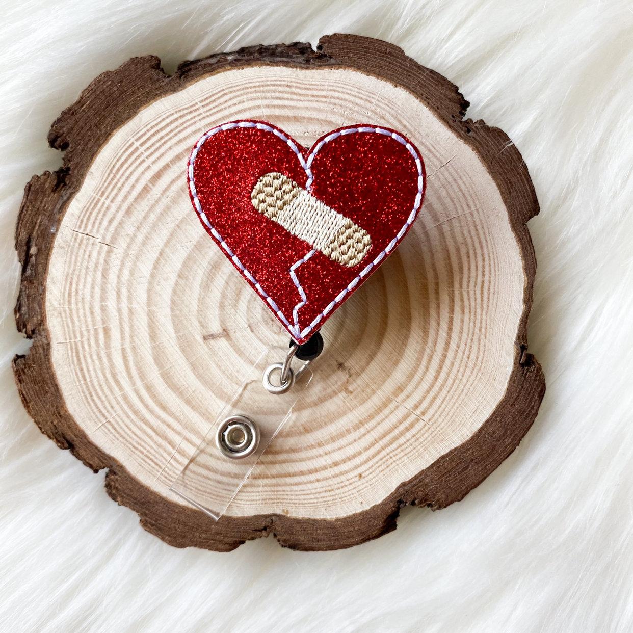 Mended Heart Badge Reel