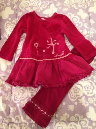 Naartjie Dress/Top Set Size 18/24 Months