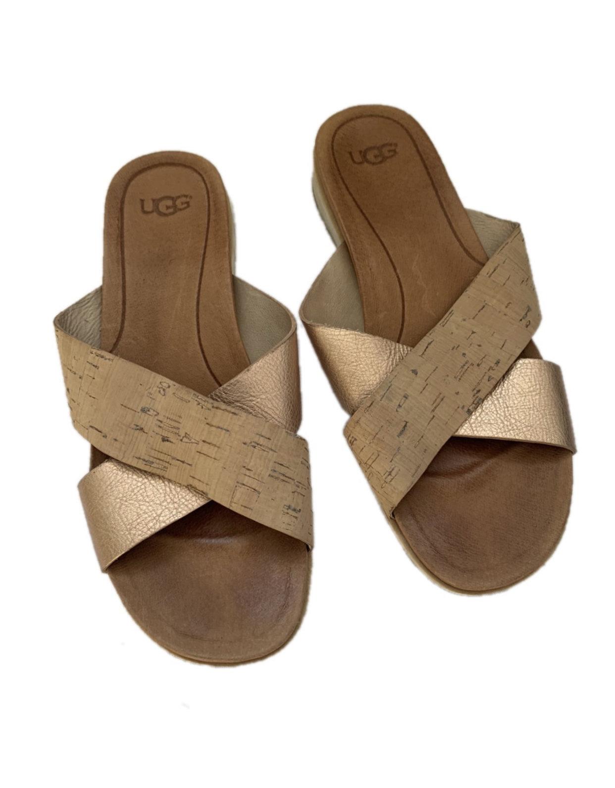 Women S Ugg Rose Gold Sandals