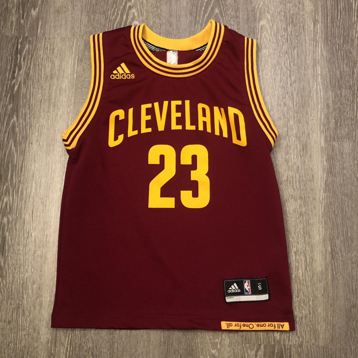 Lebron James #23 Adidas Maroon Cleveland Cavaliers CAVS Jersey ...