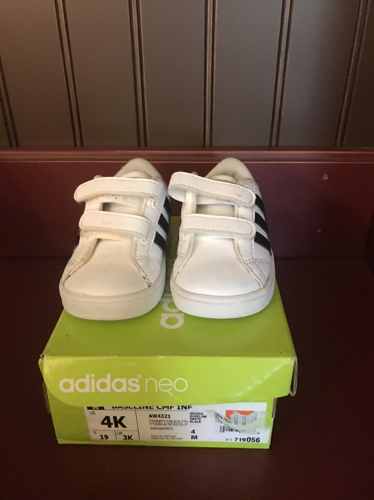 Adidas Neo Baby Shoes