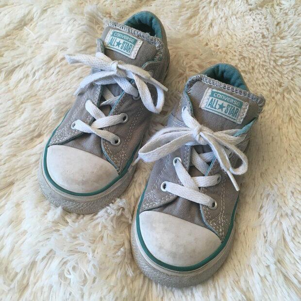 /& 2 Casual Hightops sz4 sz3 Boy Shoes 3//$13 Grey KDs