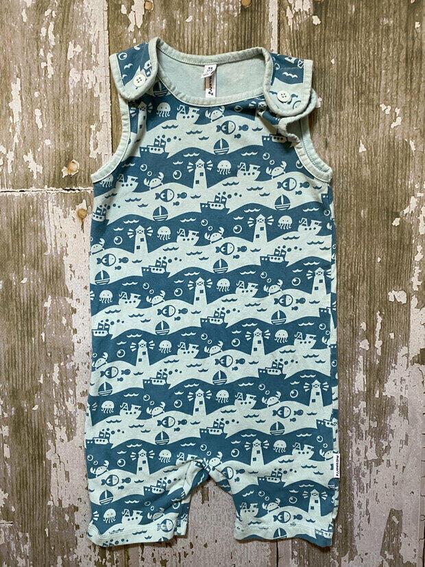 Maxomorra Organic Cotton Baby Girl Rainbow Rompersuit 50//56cm 0-2 Months