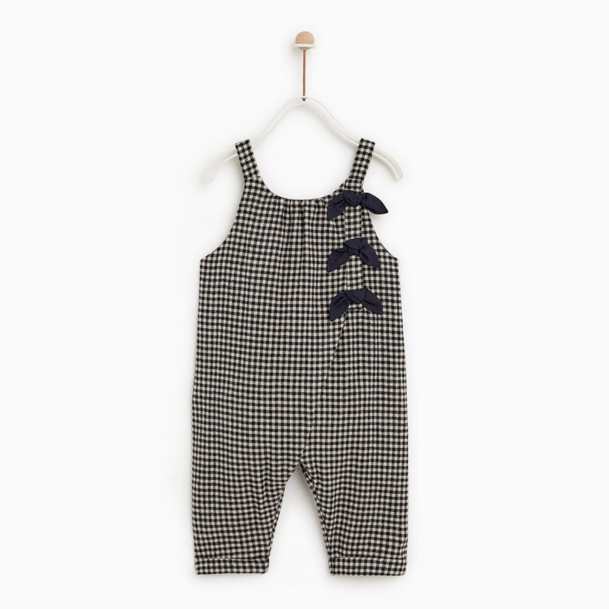 Zara Baby Plaid Romper
