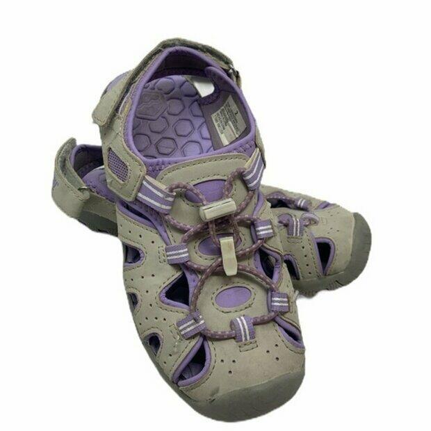 Khombu Kids Girls Threadfin Sandal