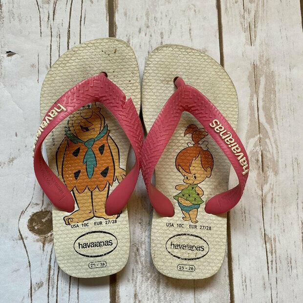 Wonder Woman Sandals Havaianas Baby Heroes Size 9c