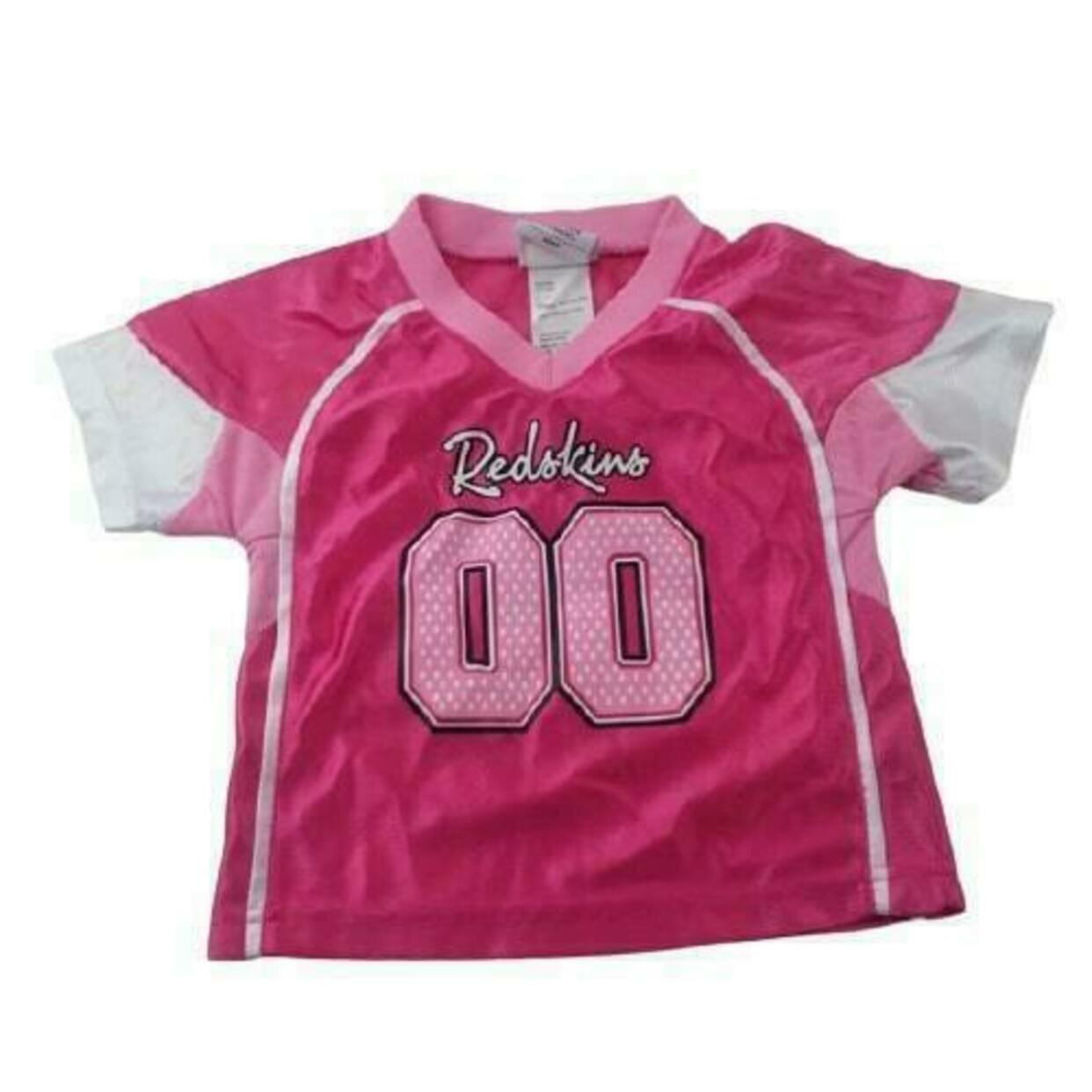 Washington Redskins Pink #00 Jersey Baby Girls 2T NFL Team Apparel ...